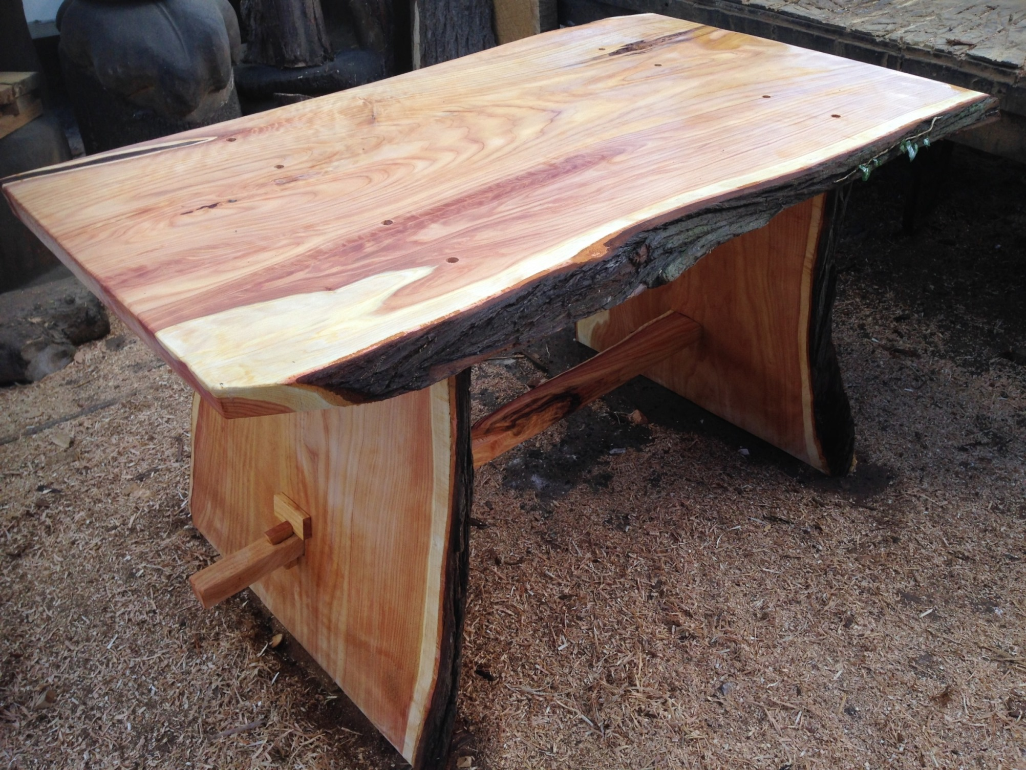 20150512 Table and Bench making (5).JPG