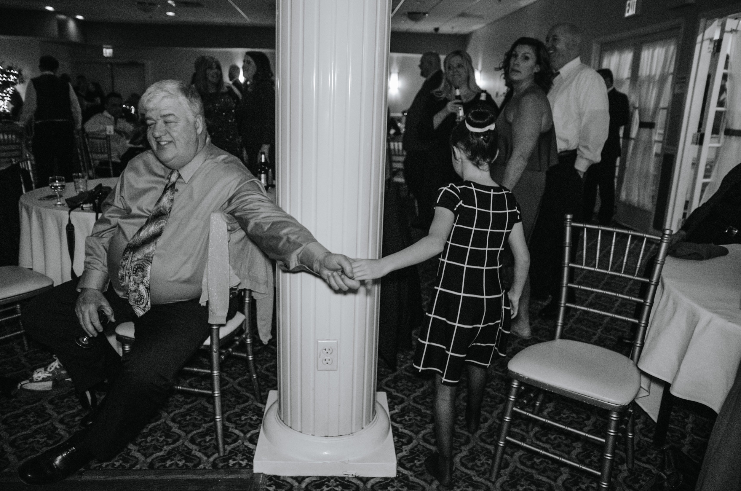 """""""Towards the end of the night, everyone was up and dancing. Not just the kids.""""  © Kristen Harrison Photography"""