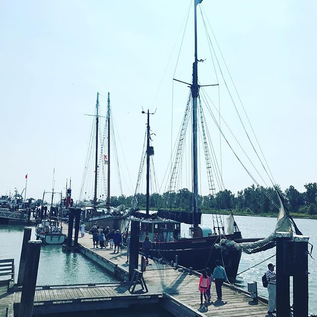 It's opening day at the #RichmondMaritimeFestival. Come on out and enjoy the numerous activities, live performances and great food. Open 11am-7pm. #britanniashipyards #richmondbc #rmf2017🐟
