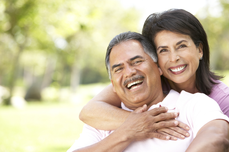 Teeth straightening at Bellevue Dental Arts middle age couple
