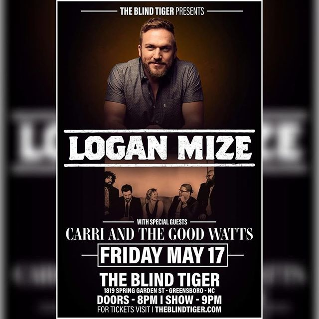 Who's coming this Friday? @blindtigergso #northcarolina #greensboro #betteroffgonetour