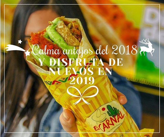 🌟 🎊FELIZ AÑO 2019!! 🎆🎉 Estuvimos contigo cada día de este 2018 ofreciéndote deliciosas excusas para celebrar y compartir, y estaremos contigo en el 2019 para llenarte de muchos momentos de alegría y amistad!! El carnal te invita a que celebremos en PAZ, ARMONÍA Y TOLERANCIA para que estas fechas sean motivo de felicidad y fraternidad 🤗🎅 Disfruta de la compañía, disfruta del año nuevo, disfruta de todo!! ___________ #navidad #navidadenpaz #elcarnaldisfrutadetodo #navidadenbogota #navidad2018 #feliznavidad #felizaño #feliz2018 #felizañobogota #felizaño2019
