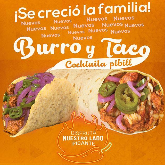 😋 ¡¡SE CRECIÓ LA FAMILIA!! 😍 🔸NUEVA LÍNEA COCHINITA PIBIL🔸 🌯BURRITO COCHINITA PIBIL🔥 🌮TACO COCHINITA PIBIL🔥 ¡PRUÉBALOS AHORA Y DISFRUTA NUESTRO LADO PICANTE !  ______ #elcarnaldisfrutadetodo #battleofthetacos #realtacos #tacotuesday #tacos4life #tacoseveryday #lovefortacos #tacosalpastor #burrito #burritos #burritoparty #breakfastburrito #burritolist #burritolife #lanzamiento #foodieforever #foodiefriends #foodielove #foodiepic #eeeeeats #eatfresh #alwayshungry #foodbible #foodcoma #bogotafoodie #domiciliosbogota #bogotafood #quecomerbogota