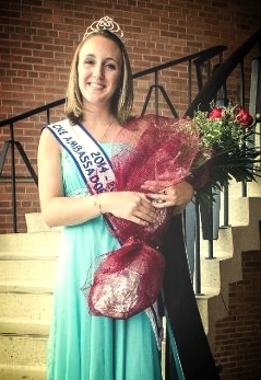 2013 SR ambassador - Jodie - who won the 2014 CNE Ambassador of the Fairs title