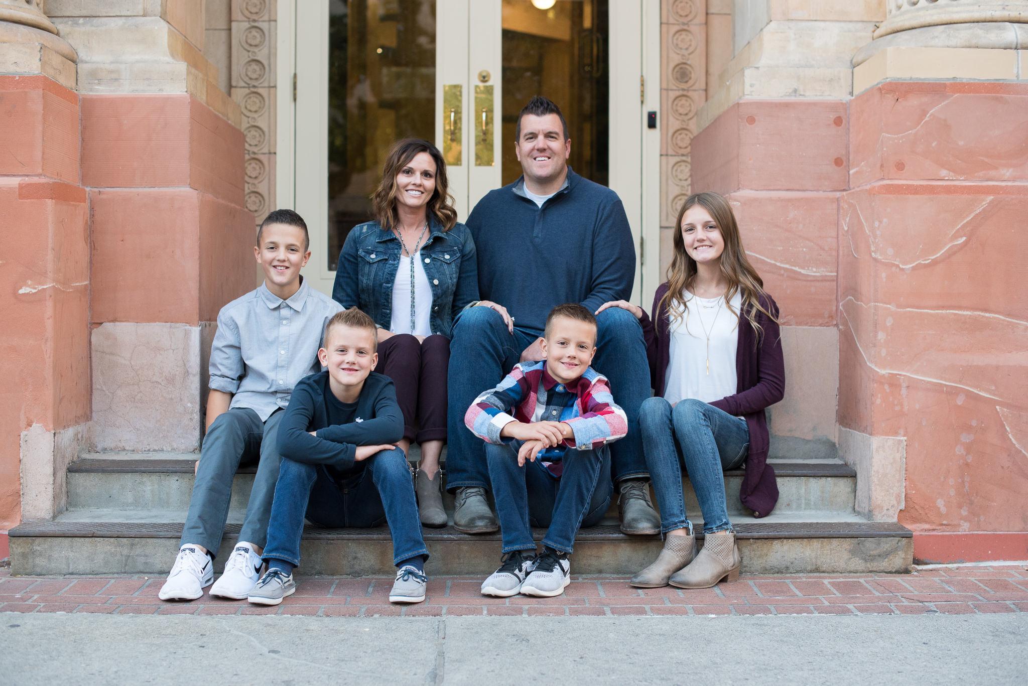Utah Family Portrait