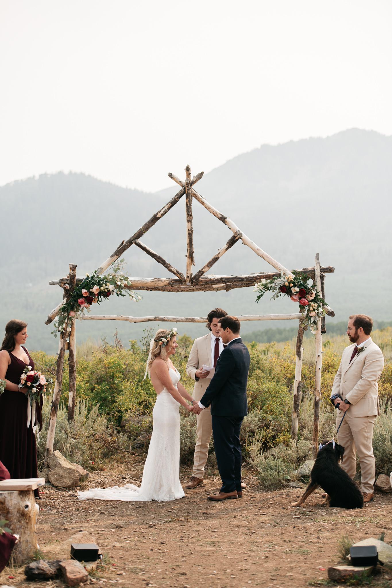 Church of Dirt, Park City Wedding photographed by wedding photographer Trevor Hooper Photo