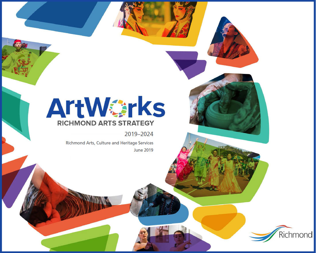 Download the Richmond Arts Strategy 2019-2024