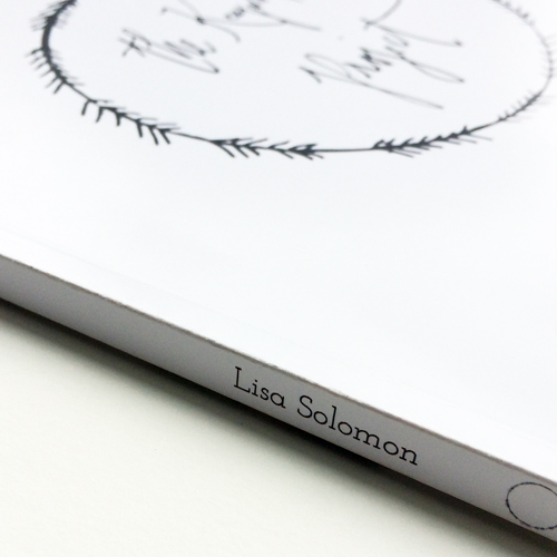 Book Design - Book design for Lisa Solomon and her Keepsake Project.