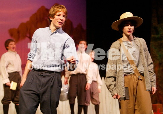 "Playing Tom Sawyer in ""Tom Sawyer"""