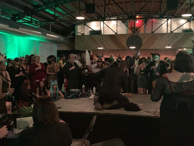 We rarely get a chance to collaborate with our local sex positive communities that when we do- we love it ! Here is a Shibari demonstration from our last Masquerade Woodland Creatures in #atx it was an amazing party! #sexualhealthalliance  #sexnerd #sextherapy #sexeducator #sextherapist #sexed
