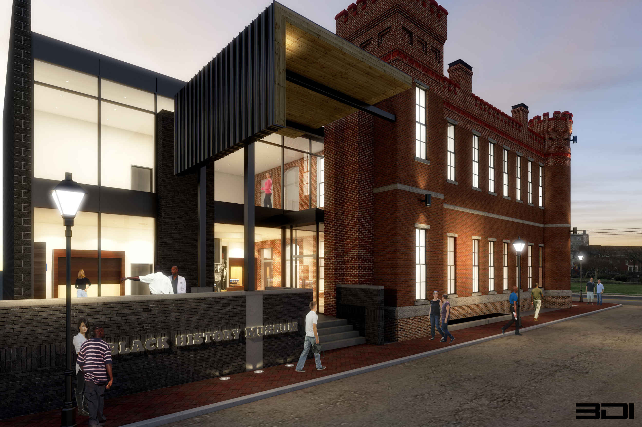 The Black History Museum & Cultural Center of Virginia (housed in the former Leigh Street Armory).Courtesy of the  blackhistorymuseum.org .
