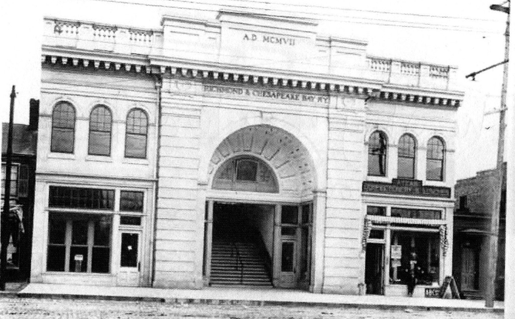 The Depot in 1907.Courtesy of  VCU News .