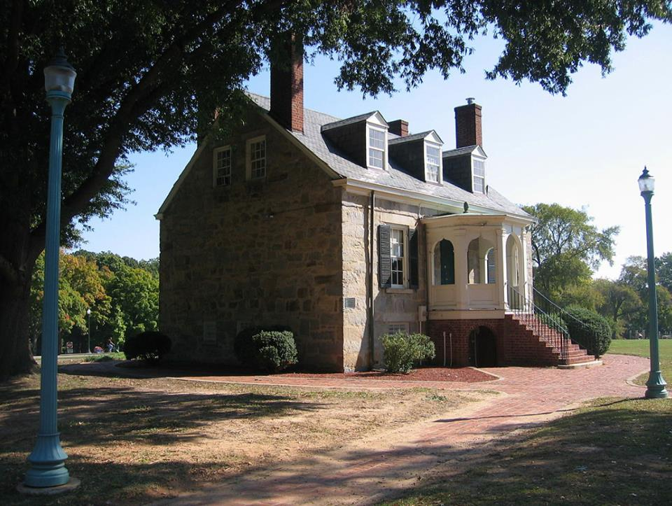 The Old Stone House in Forest Hill Park.