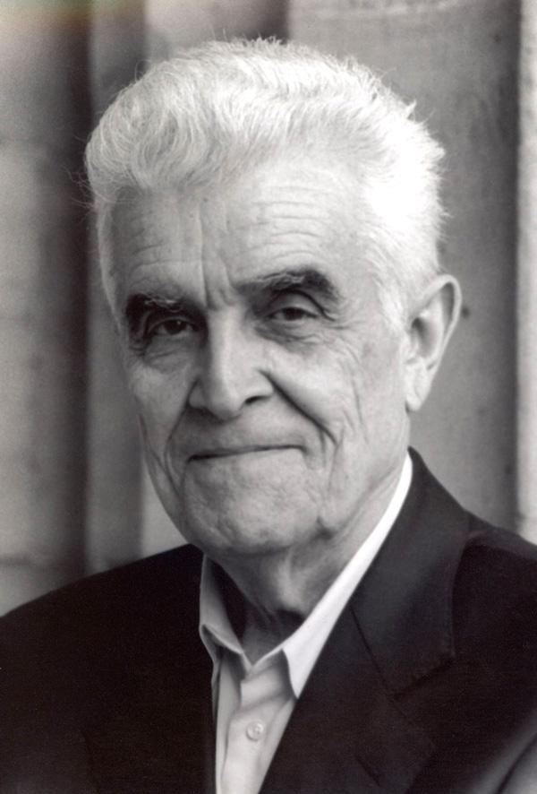 René Girard (photo credit: Elizabeth Bailie)