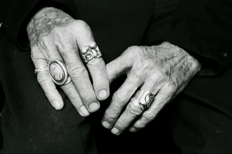 EDGAR'S HANDS