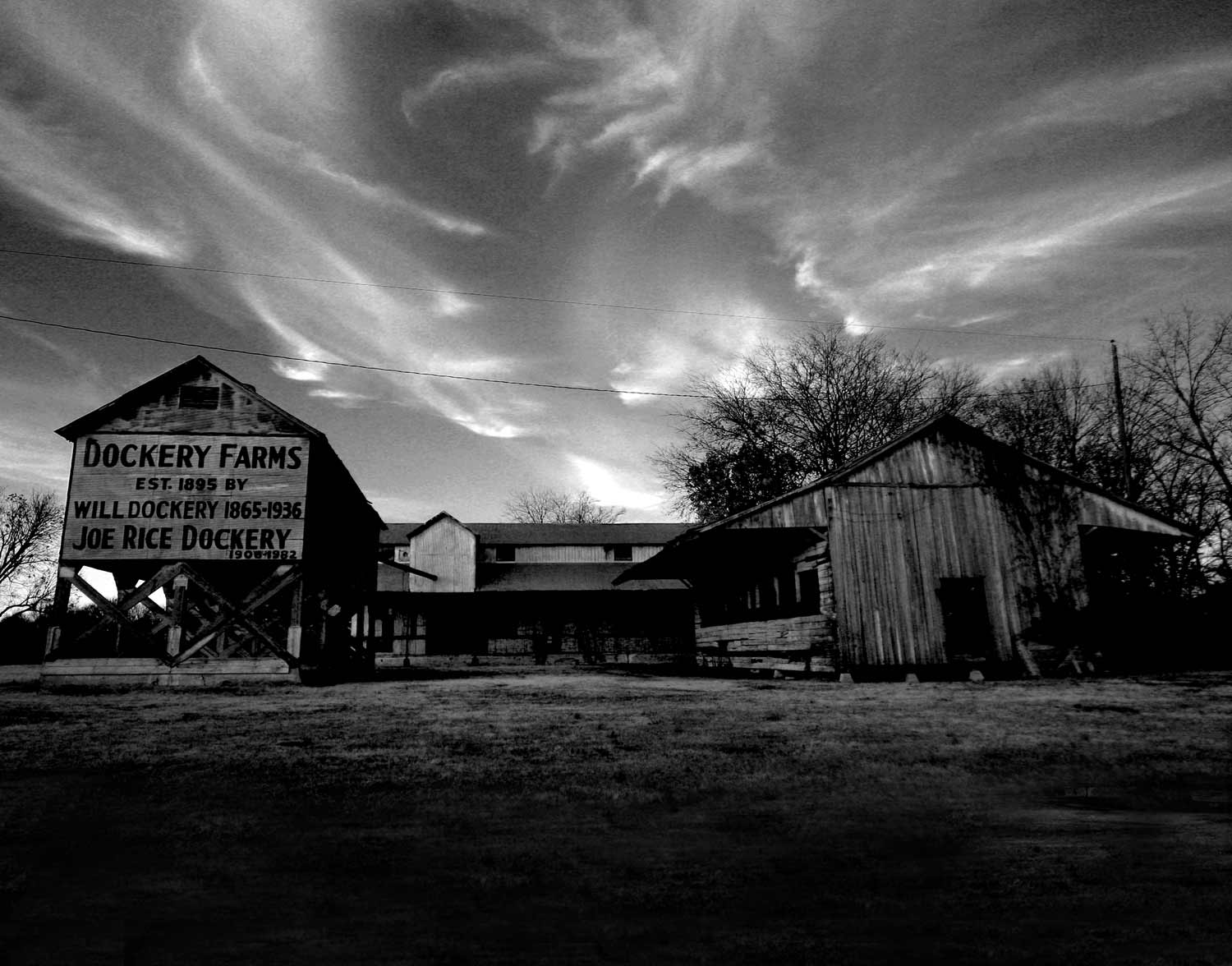 DOCKERY FARM;  Stovell, MS.