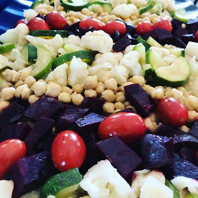Garden vegetables Provençal at Divinity School. . . . #chefs #yummo #gourmetcatering #cheflife #yaleuniversity #yaledivinityschool