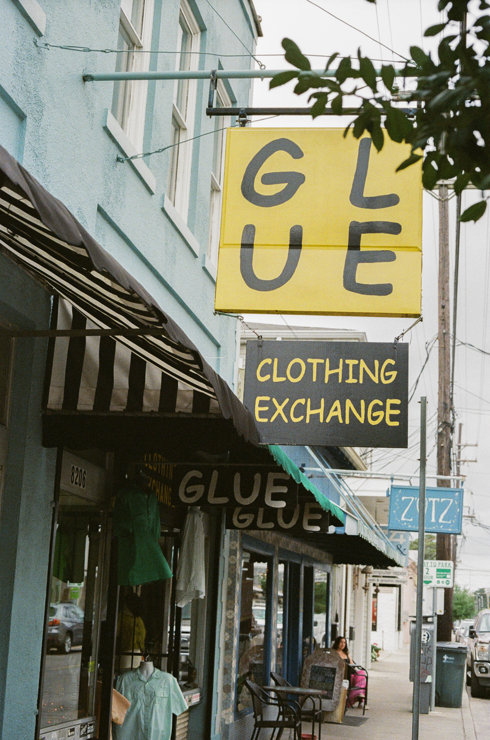 """""""That place has been closed for years. Are you disappointed?"""" Yes. """"Ouch."""" • New Orleans, LA"""