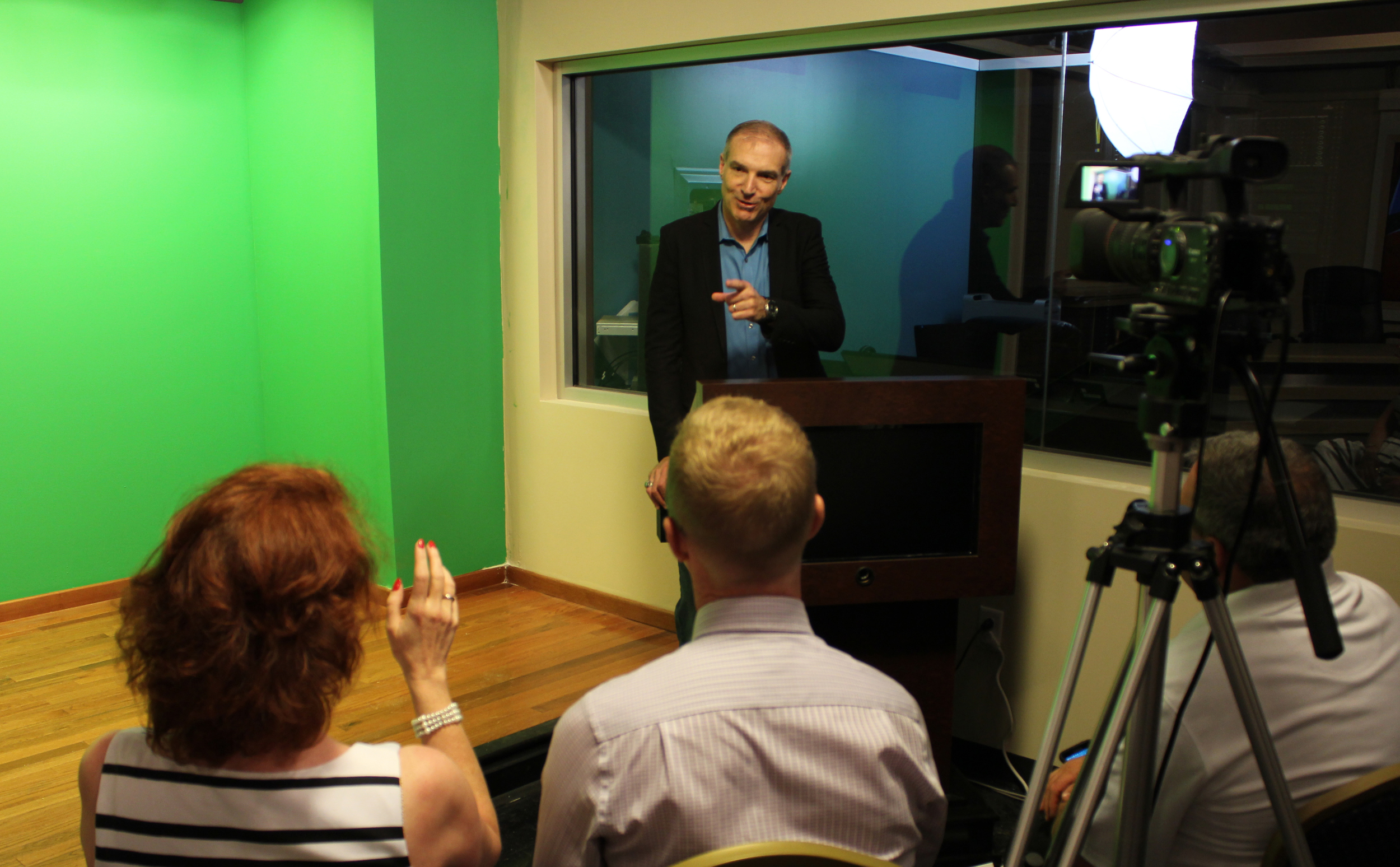 Media Training & Simulation    Hire Us