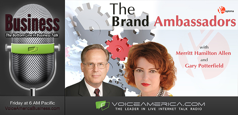 The Brand Ambassadors  debuts Oct. 29 at 9 a.m. EST on VoiceAmerica.