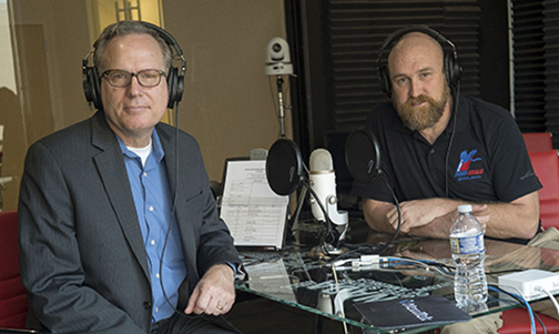 Gary Potterfield welcomes Paul Rhynard to Vox Optima's National Harbor production studios for episode 3 of  The Brand Ambassadors .