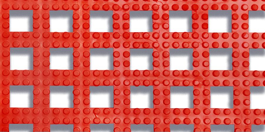 Red / #2554 Dri-Dek