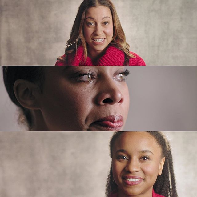 Here are some frames from a recent campaign that we used the EyeDirect. The middle frame is our second angle which tied nicely together with our main angle. I love the feeling you get of the subjects talking to you directly.  The second angle was a @tokinacinemausa Vista zoom.  Production Company: @disarmstudio  DP: @kkeiser  B Cam: @m4s1g1  Gaffer: @tank_lights_you_up