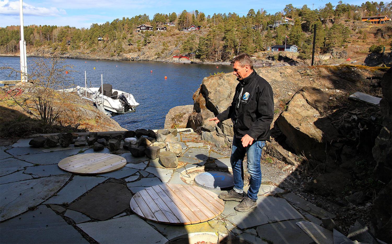 Jan-Petter Kongsberg i Agro & Miljø forteller at selskapet har levert flere slike anlegg i området. Flere hytteeiere i dag enn tidligere, setter større krav til gode og funksjonelle renseanlegg.
