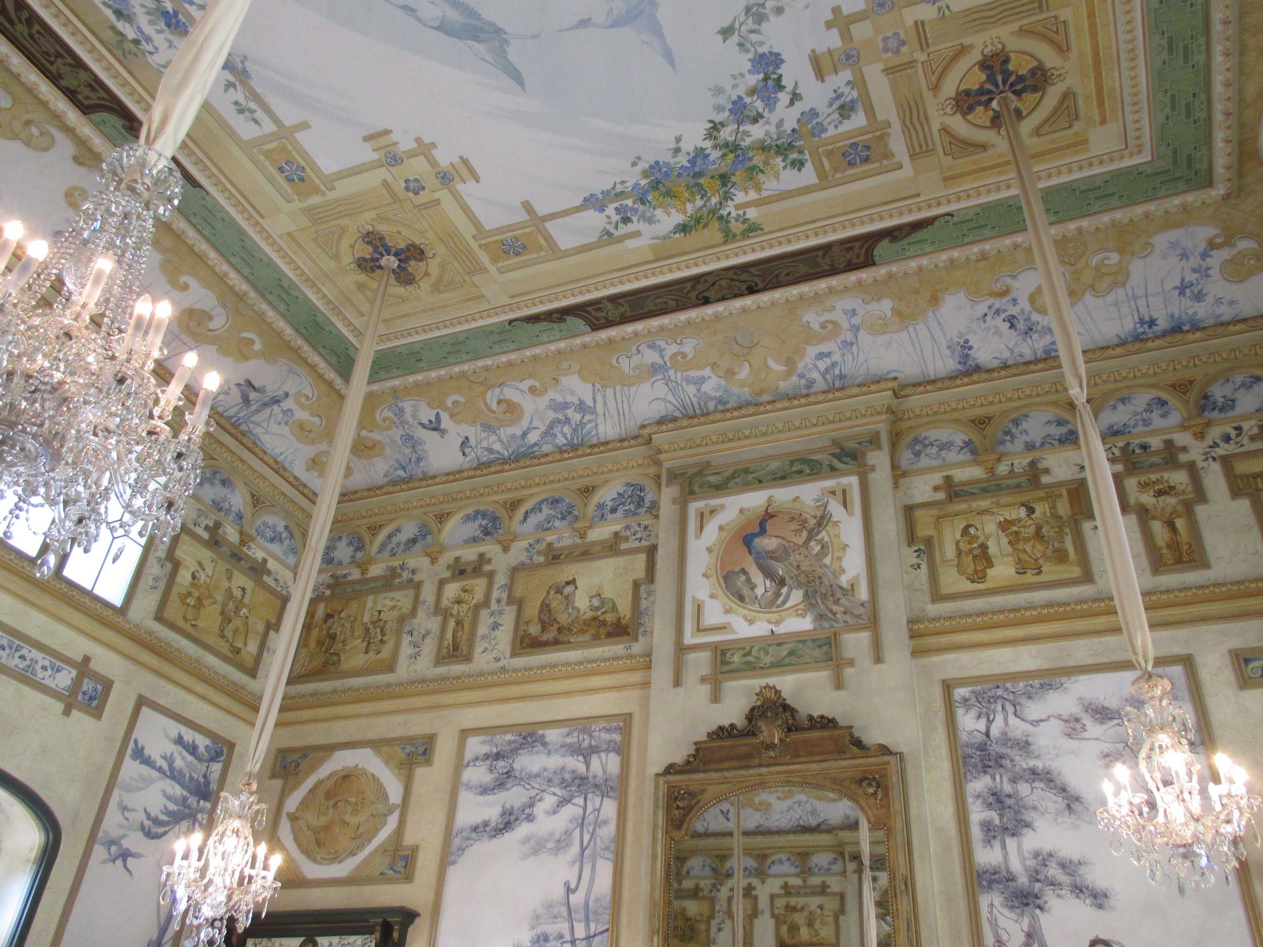 Inside Schloss Pillnitz