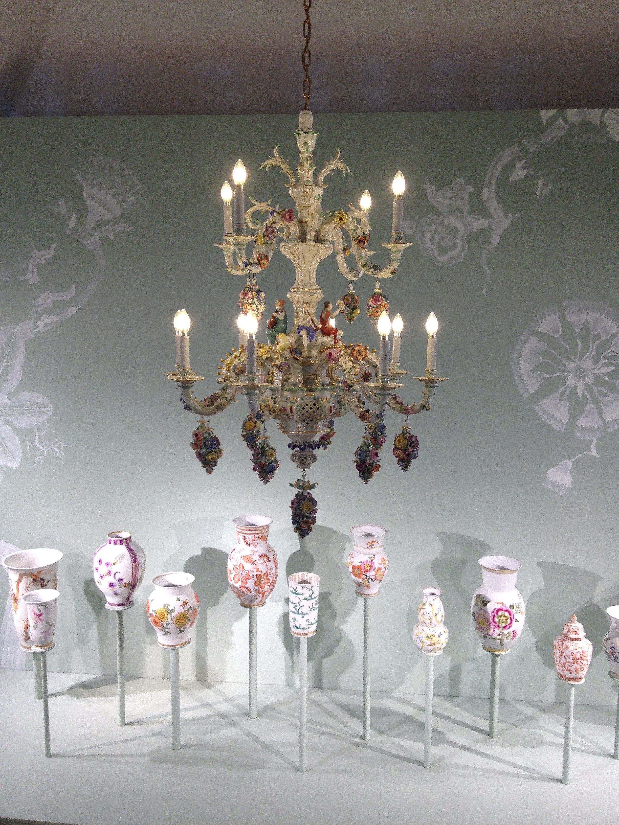 At the Meissen Porcelain Factory and Museum