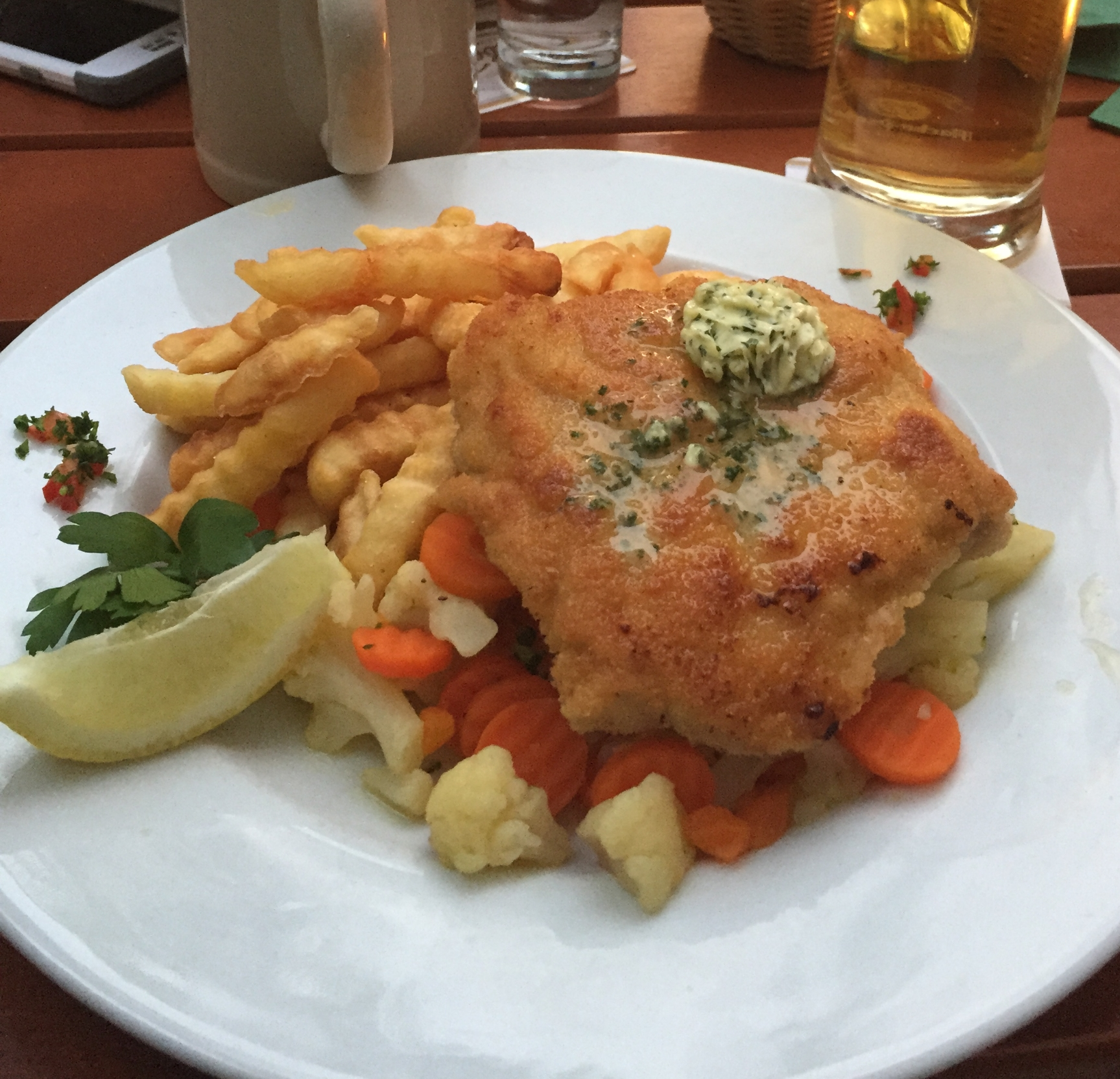 The incomparable Braumeister Schnitzel