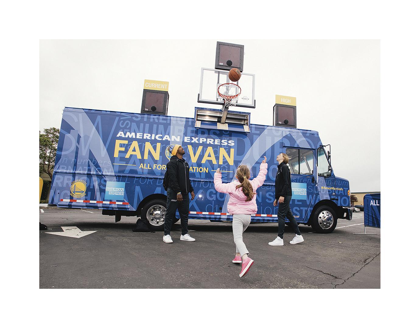 Fan Van, Oakland, CA, American Express