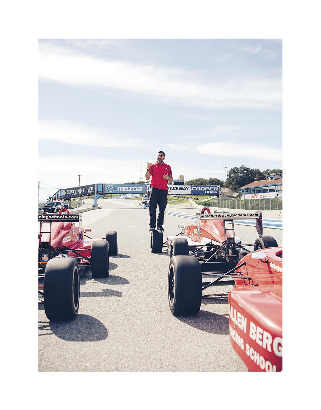 Racing School, Laguna Seca, CA, CAA Magazine