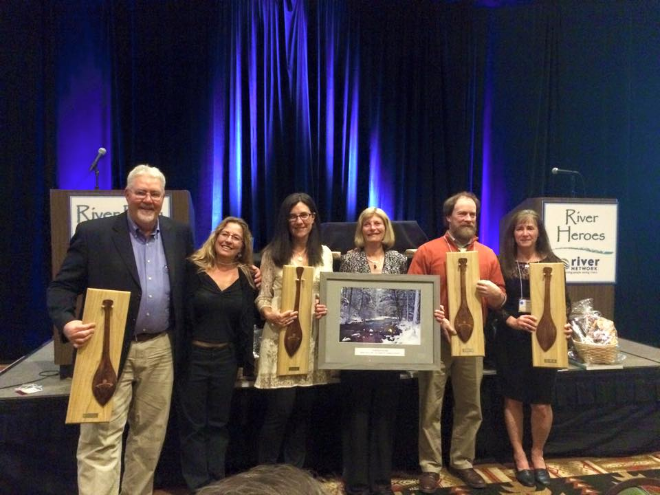 IRU Executive Director Bill Sedivy, left, joins other River Hero Award recipients in Santa Ana Pueblo, New Mexico, earlier this month.