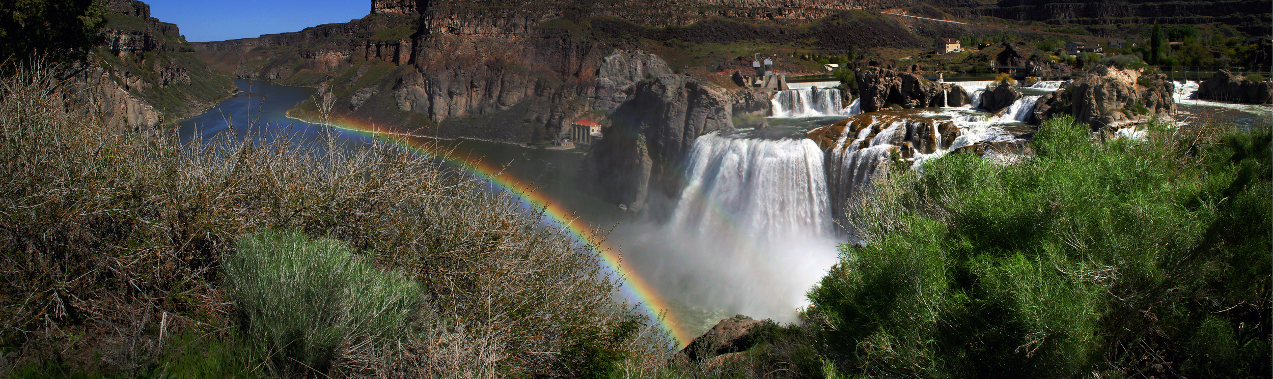 Shot almost exactly a year ago at Shoshone Falls on the Snake River in southern Idaho, this photo was named one of two runners up in a recent photo contest co-sponsored by Save Our Wild Salmon and Mountain Khakis. (photo by Greg Stahl)