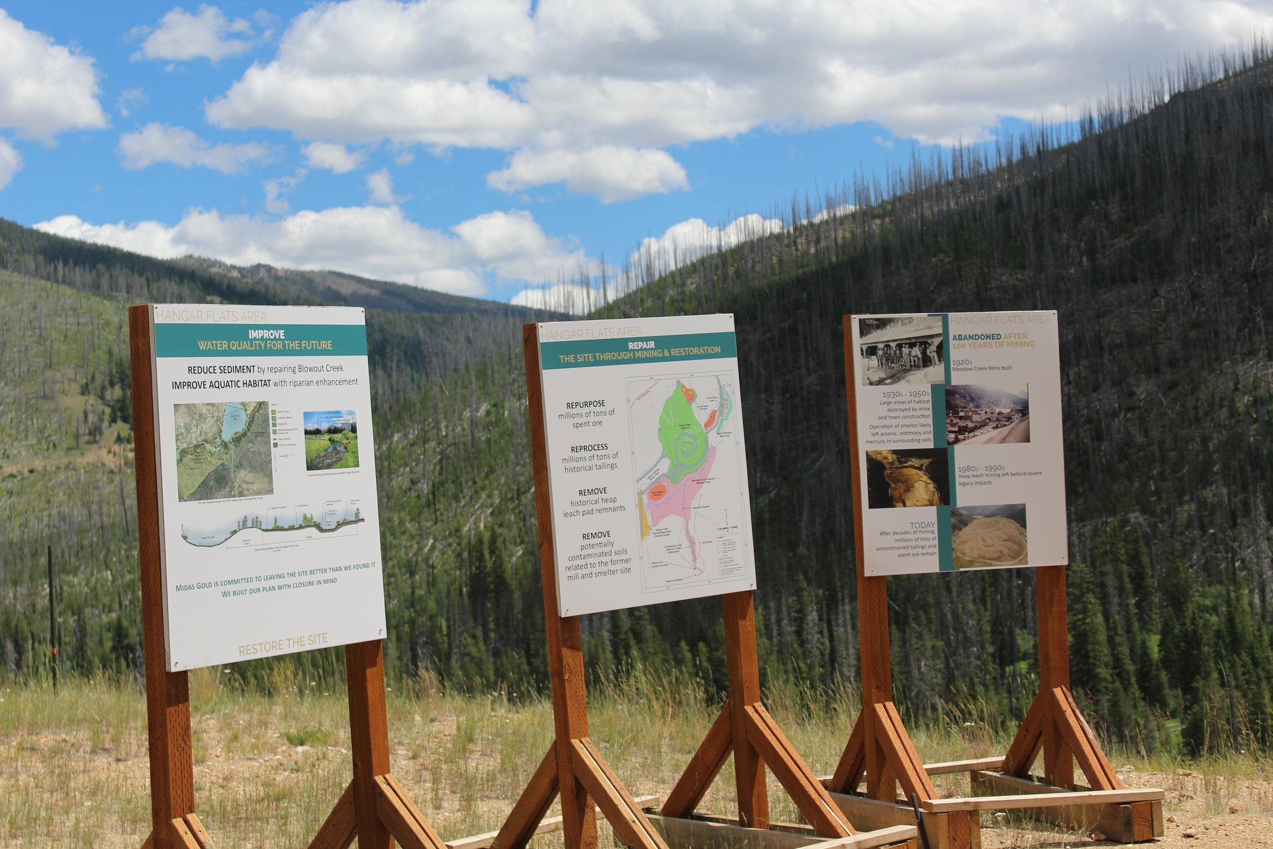 Hanger Flats/Meadow Creek area