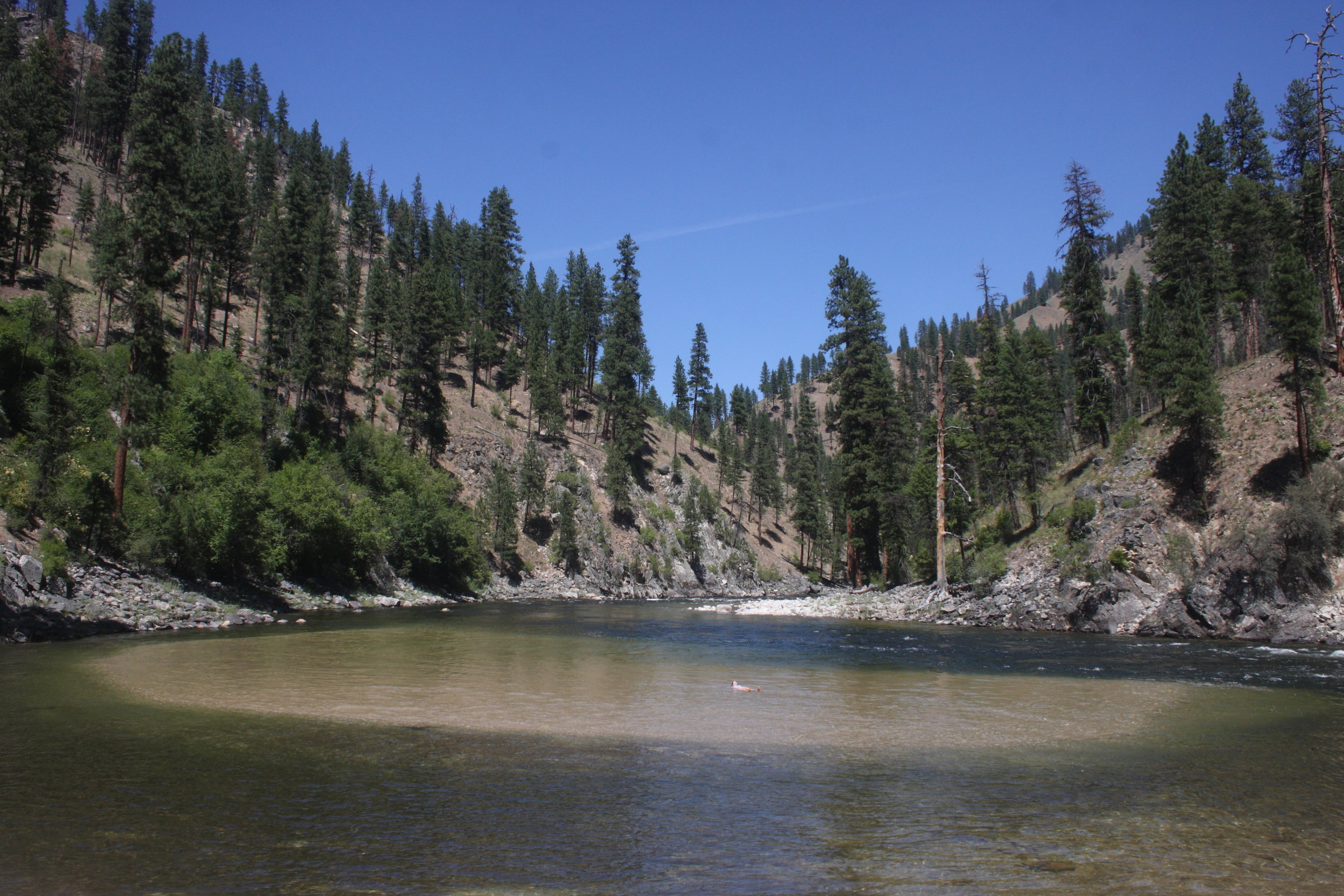 Idyllic South Fork of the Salmon River