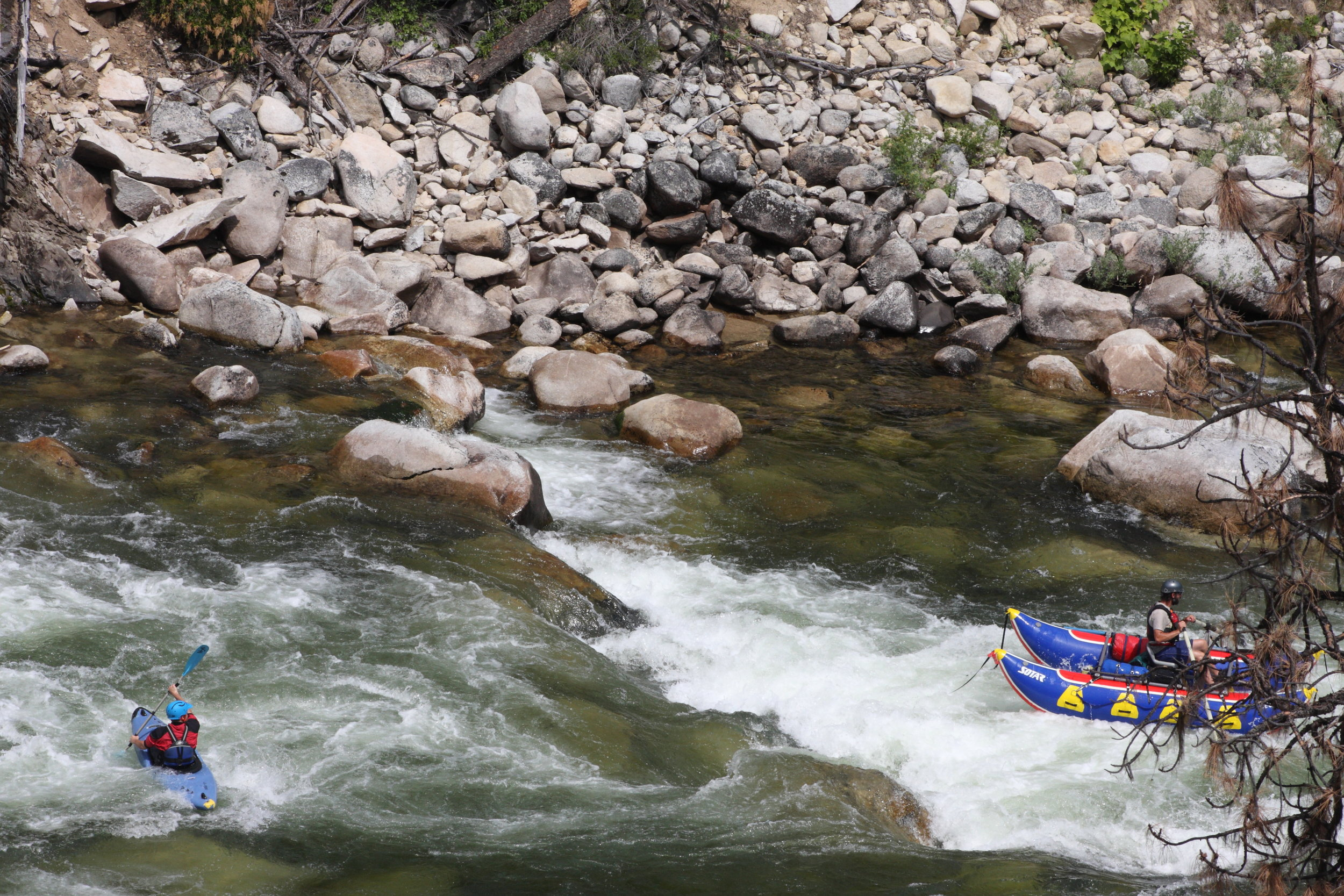 Beautiful whitewater on the South Fork