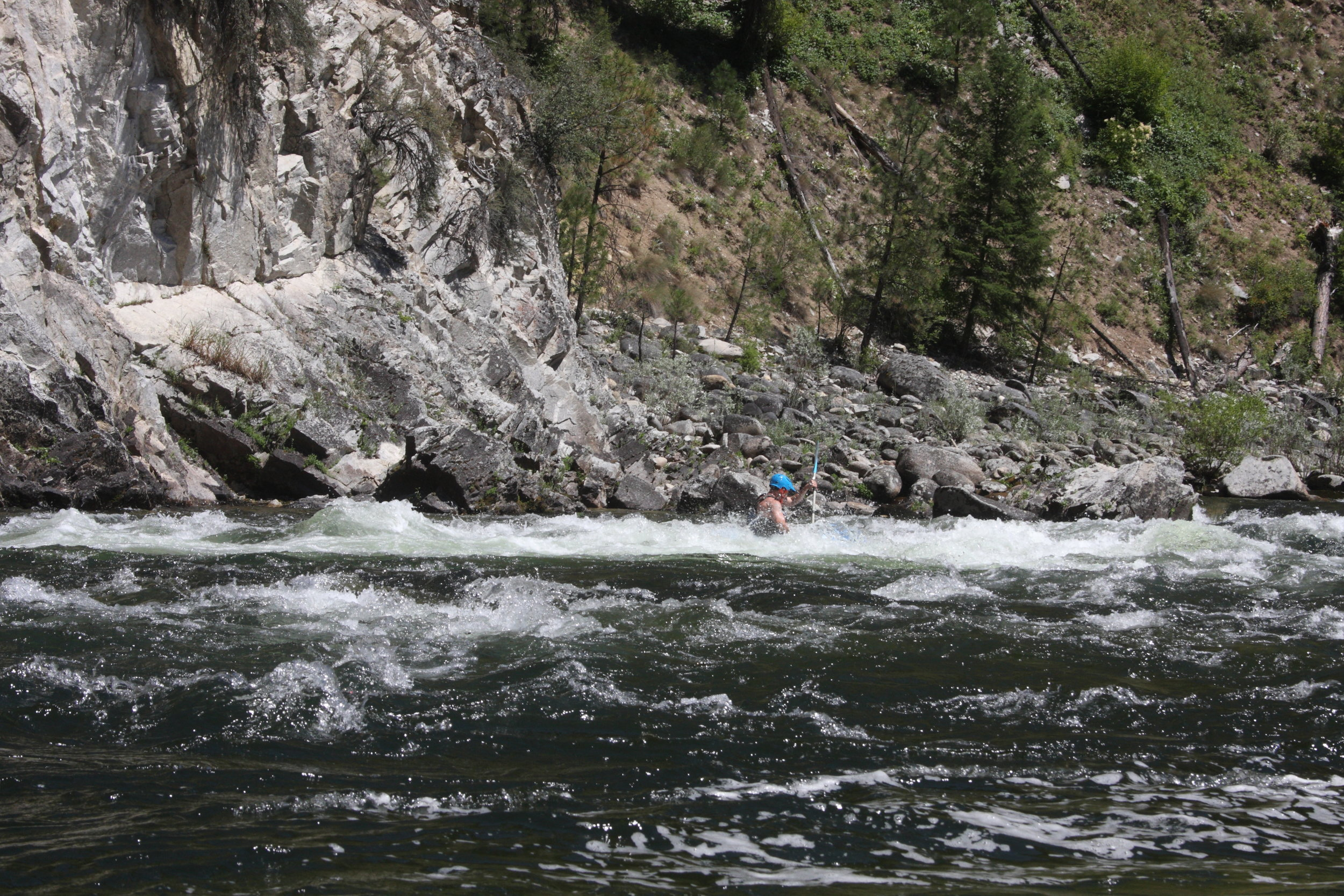 Paddling the secluded South Fork