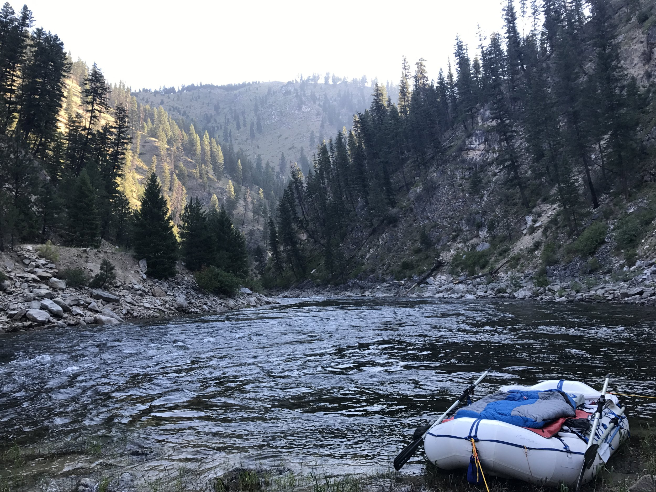 Perfect South Fork Salmon spot  @Nate Ostis
