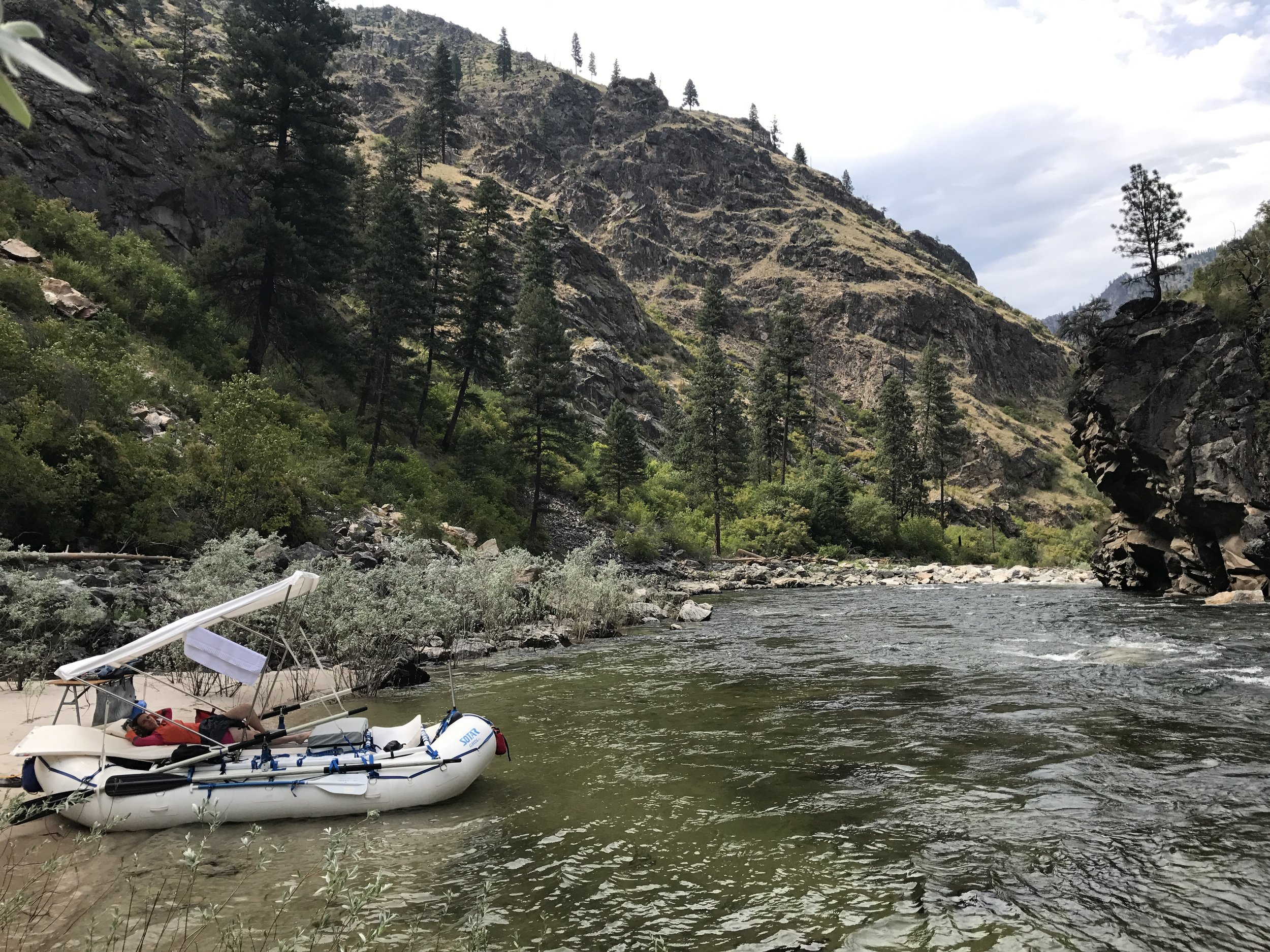 One of many unique spots along the South Fork  @Nate Ostis