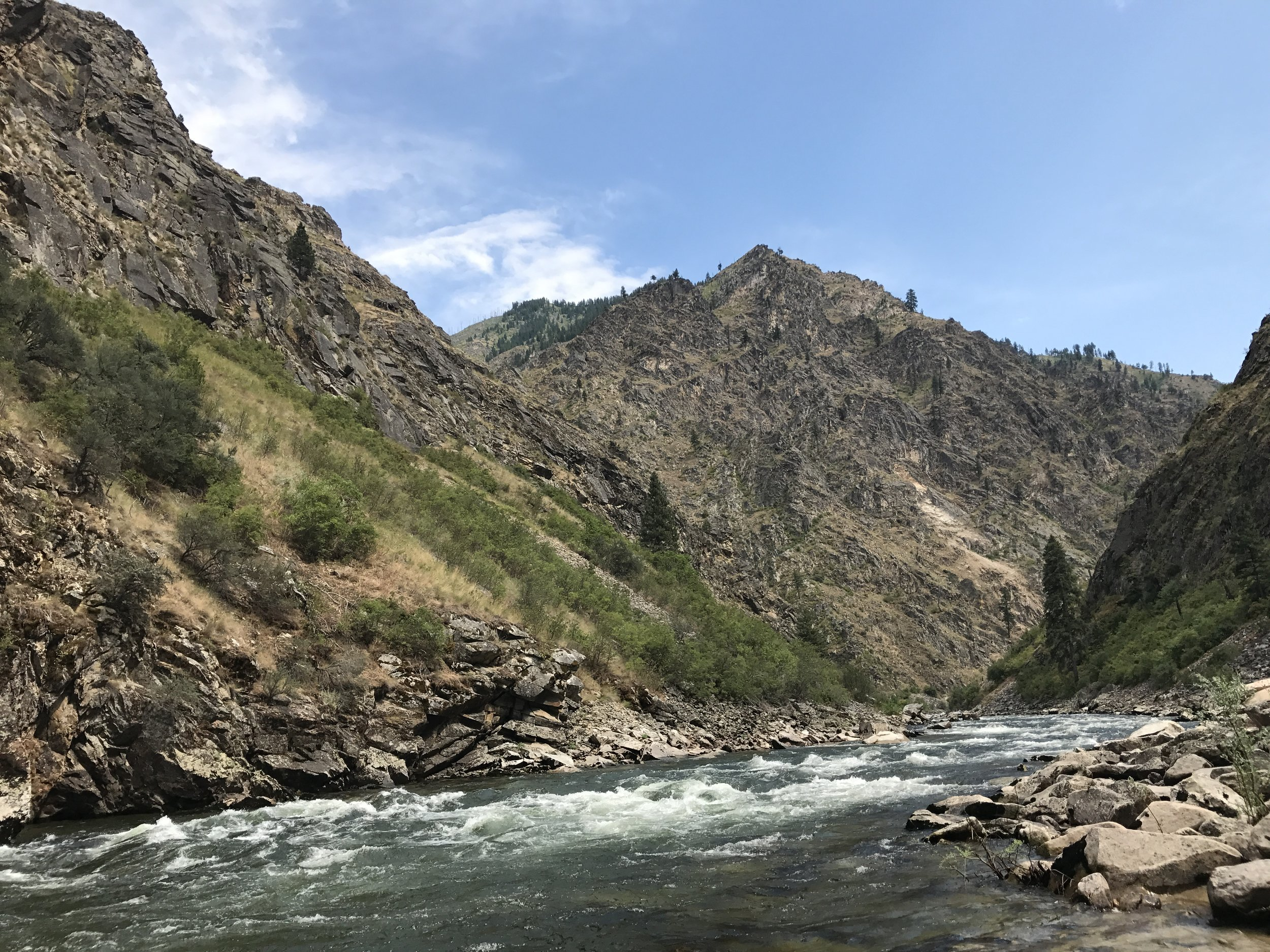 South Fork River Canyon  @Nate Ostis