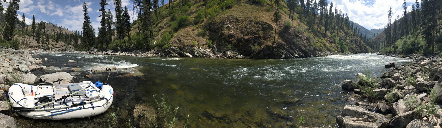 The South Fork of the Salmon River is prized by expert kayakers and rafters. Photo by Nate Ostis.