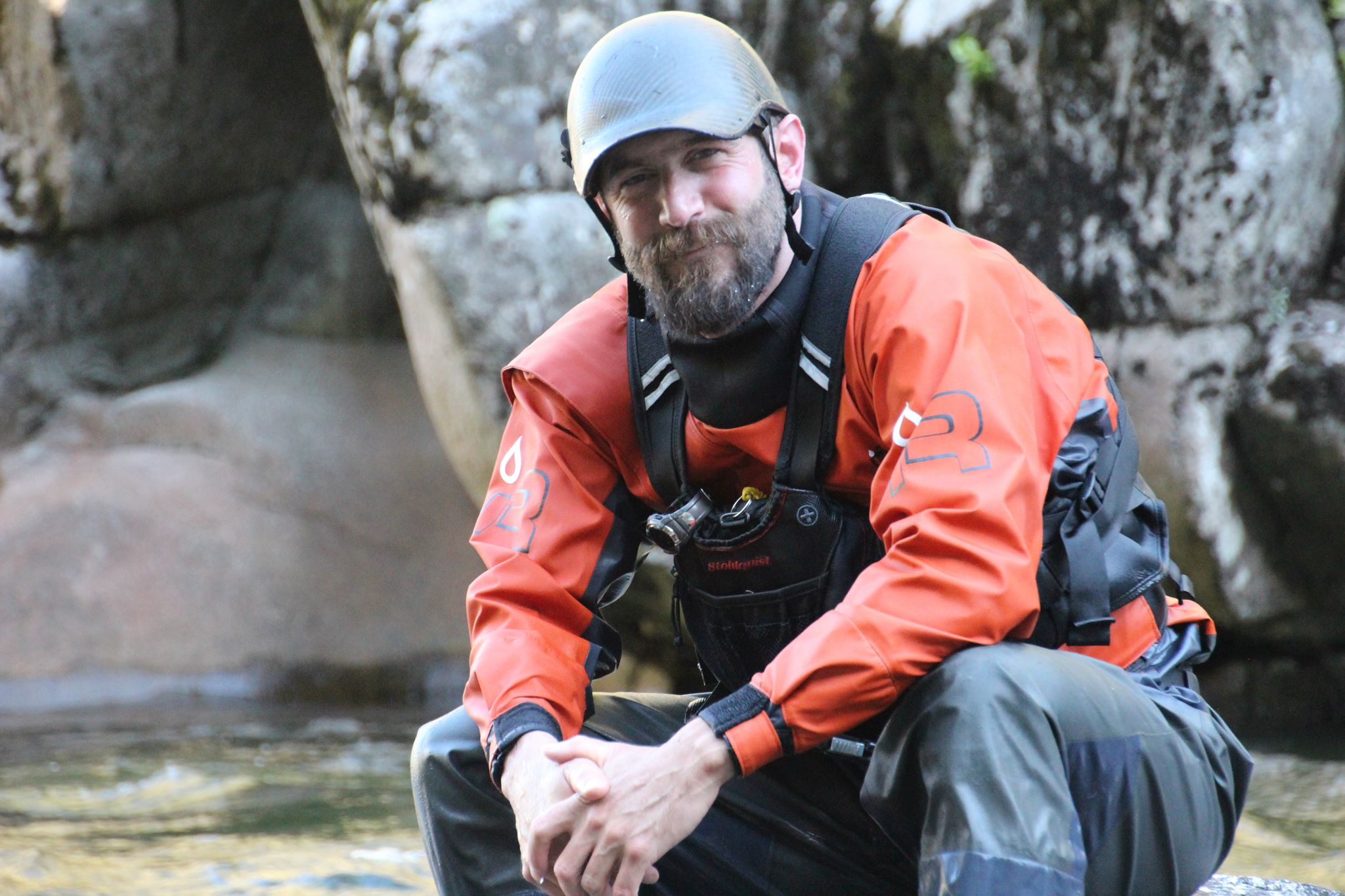 """""""The South Salmon is the reason I moved to McCall from Maine 18 years ago and have made it my full time residence. Idaho wilderness is simply stunning. It calls to me like nowhere else on the planet. My profession takes me across the globe for approximately 26 weeks a year leading wilderness trips and teaching river rescue and first aid classes. The best part of traveling? Coming home to Idaho. I've been paddling since 1988 and have been on rivers in nine countries including some first descents in wildly remote places. The South Salmon continues to be my all-time favorite river. I can't even put a finger on it. Don't really need to. We just go there and we get it. It is truly special.""""   -Nate Ostis, McCall, Idaho"""
