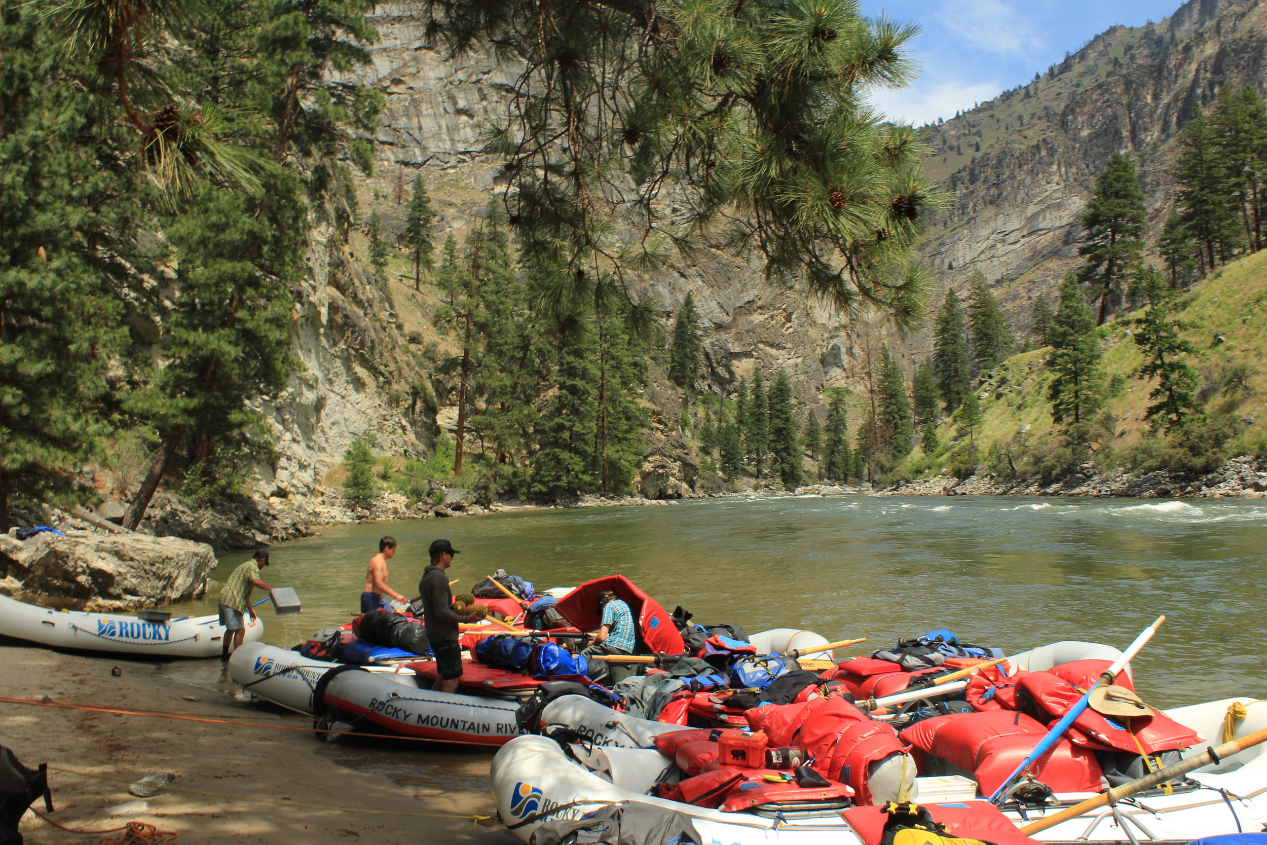 Middle Fork of the Salmon River. Photo by Ava Isaacson.
