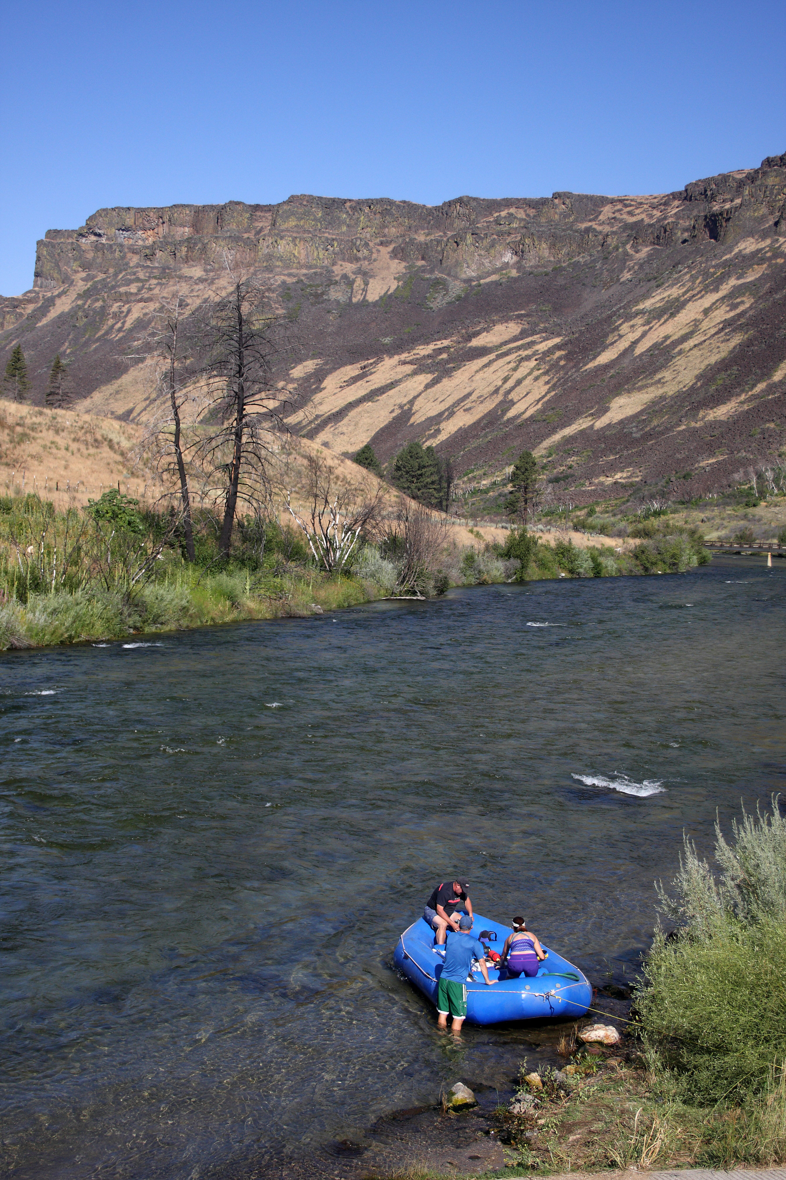 The South Fork of the Boise River is prized for its fishing, whitewater and scenery. A Bureau of Reclamation proposal could raise the Anderson Ranch Dam. (Photo by Greg Stahl)