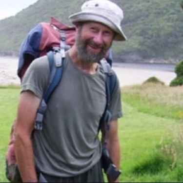 Derry Kingston, founder of Heaphy Track Help in 2003 -