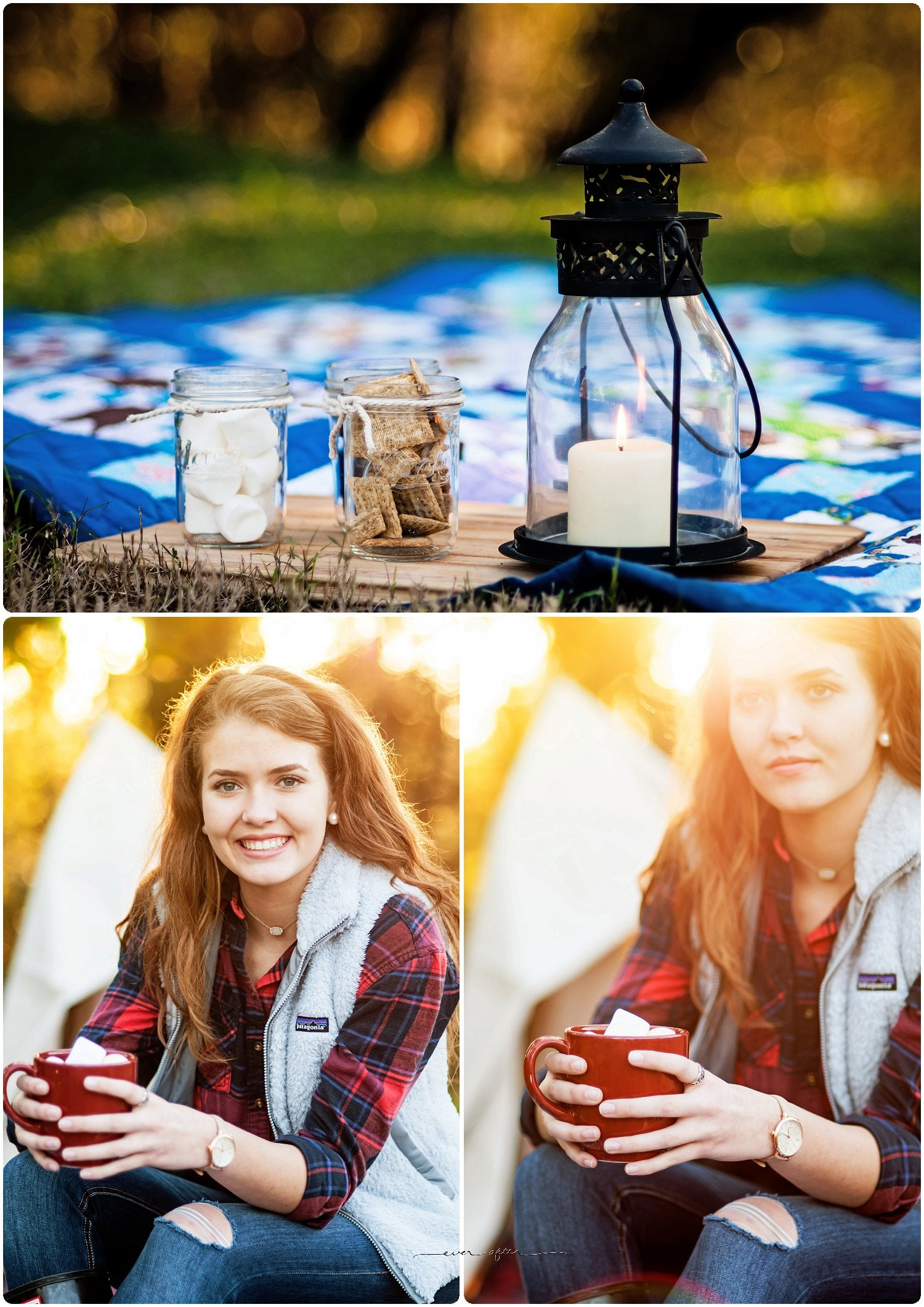 San Antonio Senior Photography | Camping Themed Session | Ever After Senior Portraits