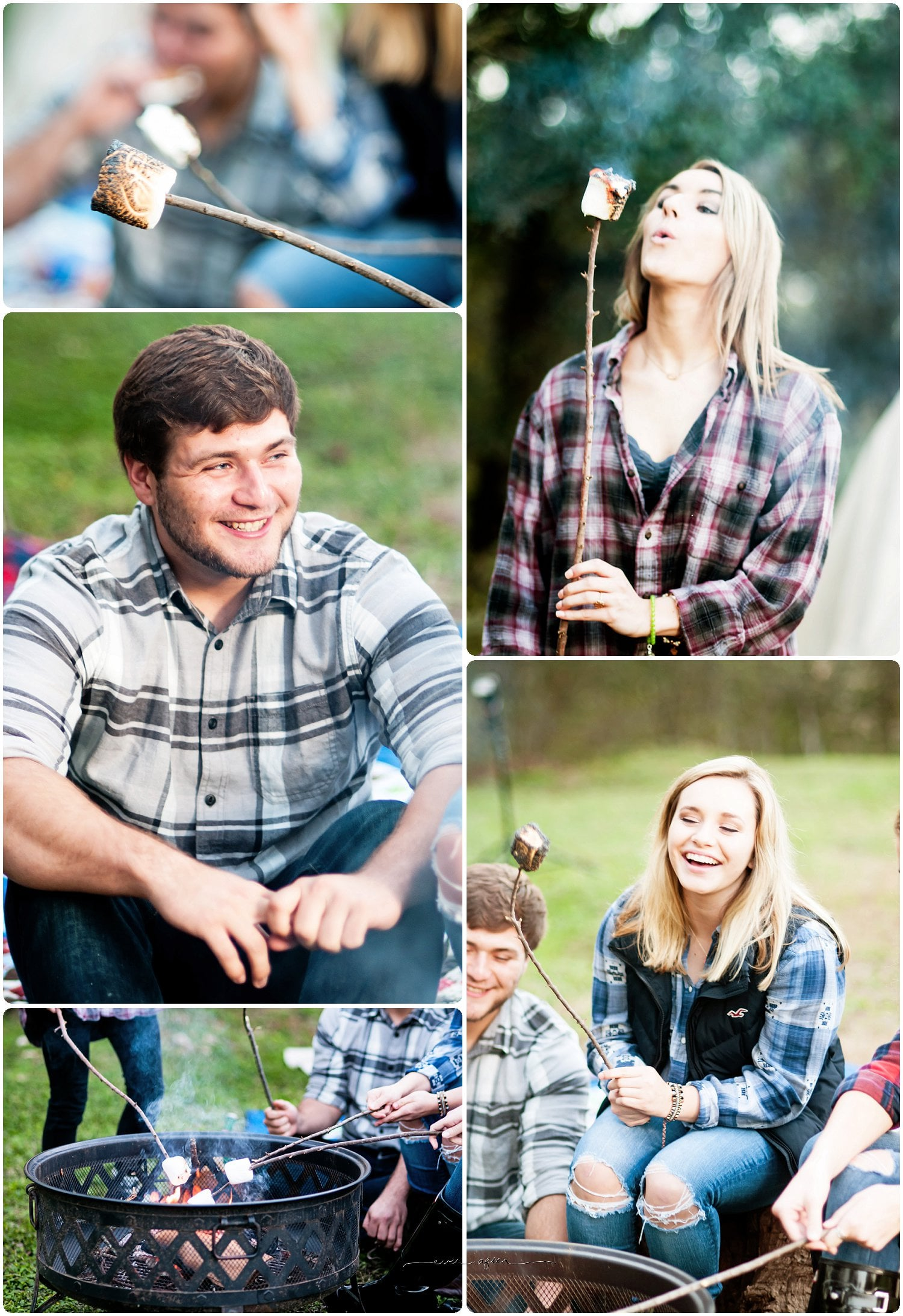 San Antonio Senior Portraits | Camping Themed Session | Ever After Photography