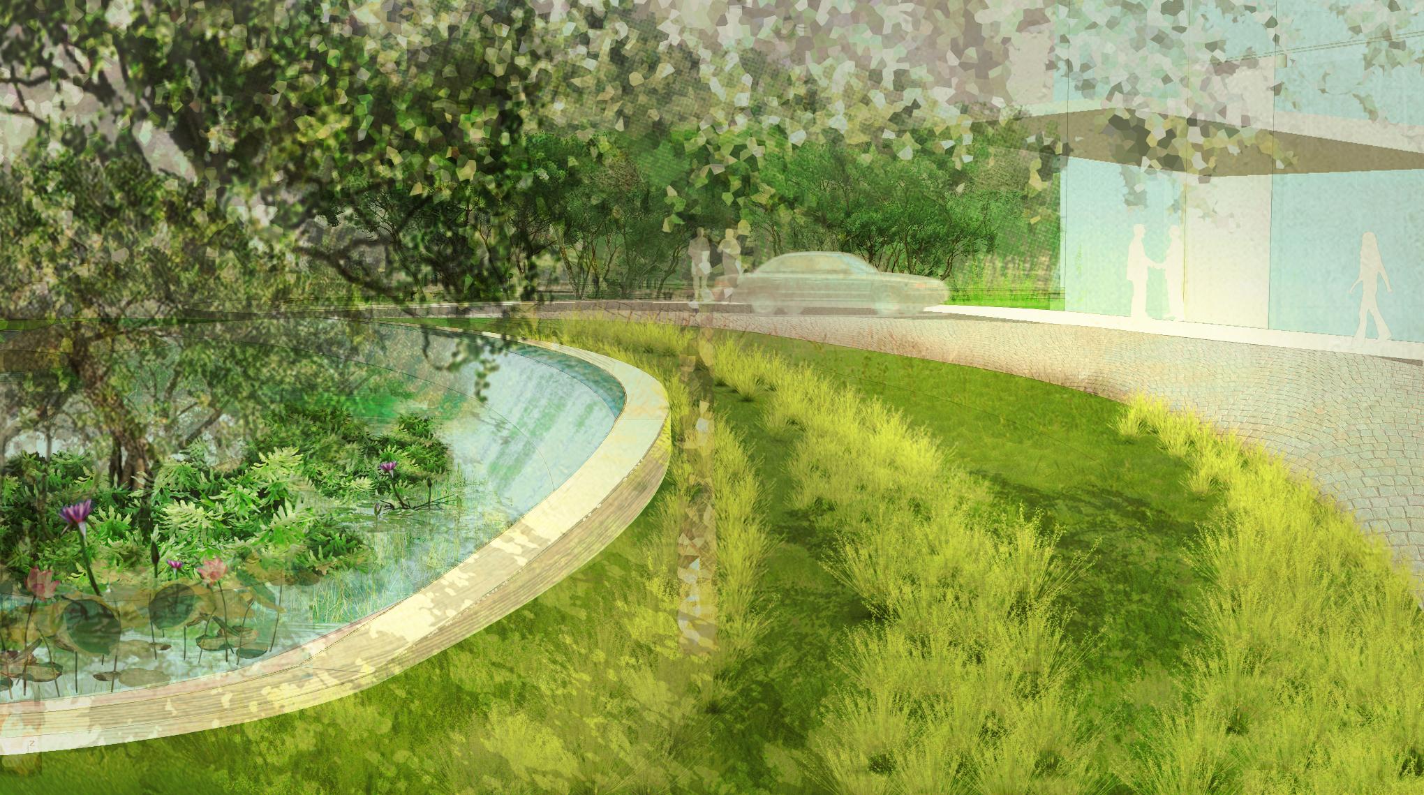 BA_godrej_Godrej One_entry fountain.jpg